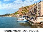 assos  behramkale  ancient... | Shutterstock . vector #208449916