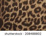 pattern of leopard | Shutterstock . vector #208488802
