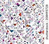 abstract seamless vector... | Shutterstock .eps vector #208493728