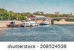 Berth Near Novospassk Bridge On ...