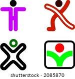 human shape design | Shutterstock .eps vector #2085870