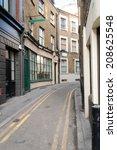 Traditional London Back Street...