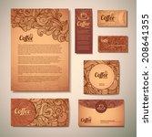 coffee concept design   Shutterstock .eps vector #208641355