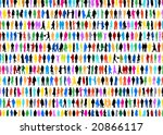 People background - stock vector
