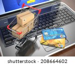 e commerce shopping cart and