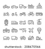 set of quality universal... | Shutterstock .eps vector #208670566