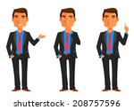 cartoon illustration of a... | Shutterstock .eps vector #208757596