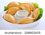 arabian samosa 9   Shutterstock . vector #208802635