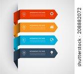 modern minimalistic... | Shutterstock .eps vector #208882072