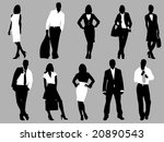 business people | Shutterstock .eps vector #20890543