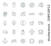 Vector Icons Set. For Web Site...