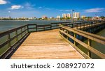 Pier On The Halifax River And...