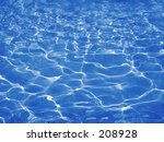This is a background shot of some deep blue colored water. - stock photo