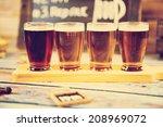 beer tasting | Shutterstock . vector #208969072