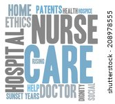 care word cloud | Shutterstock . vector #208978555