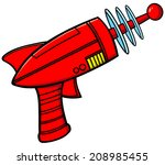 ray gun | Shutterstock .eps vector #208985455