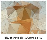 abstract geometric background... | Shutterstock .eps vector #208986592