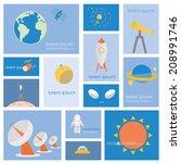 Постер, плакат: Astronomy science and space
