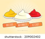 background,cartoon,condiment,design,drawing,fast,food,hot,illustration,isolated,ketchup,mayonnaise,mustard,object,pattern