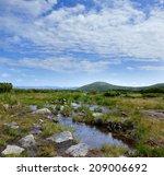 beautiful summer landscape in...   Shutterstock . vector #209006692