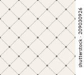 vector seamless pattern. modern ... | Shutterstock .eps vector #209030926