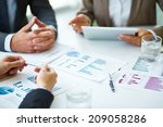 image of business documents ... | Shutterstock . vector #209058286
