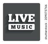 live music sign icon. karaoke...