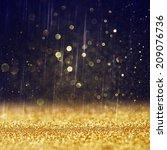 glitter vintage lights...   Shutterstock . vector #209076736