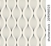 vector pattern. modern stylish... | Shutterstock .eps vector #209098525