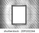 frame on the wall.vector...   Shutterstock .eps vector #209102266