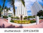 miami beach  florida usa  ... | Shutterstock . vector #209126458