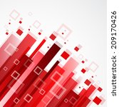 digital red background | Shutterstock .eps vector #209170426