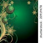 christmas background | Shutterstock .eps vector #20919478