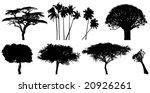 vector trees | Shutterstock .eps vector #20926261