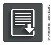 download file icon. file...