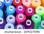 Multicolor Sewing Threads...