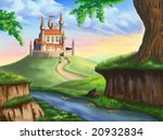 A Fantasy Castle In A Gorgeous...