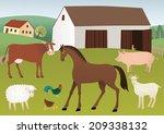 farm | Shutterstock . vector #209338132