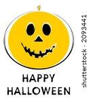 halloween jack o lantern... | Shutterstock . vector #2093441