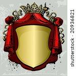 old vintage banner | Shutterstock .eps vector #20936821
