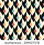 seamless raster abstract...   Shutterstock . vector #209427178