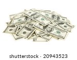 us dollars close up for... | Shutterstock . vector #20943523