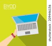 vector flat design concept of... | Shutterstock .eps vector #209446156