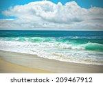 Sunny San Diego Beach  Souther...