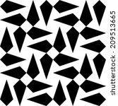 seamless monochrome background | Shutterstock .eps vector #209513665
