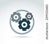 vector illustration of an... | Shutterstock .eps vector #209532682