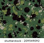 splatter camouflage seamless...