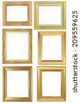 frame on the white background | Shutterstock . vector #209559625