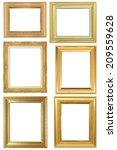 frame on the white background | Shutterstock . vector #209559628