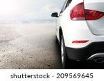 Stock photo white car 209569645